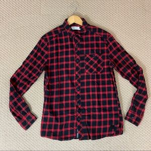 EUC Elevenparis Flannel Button Down Shirt